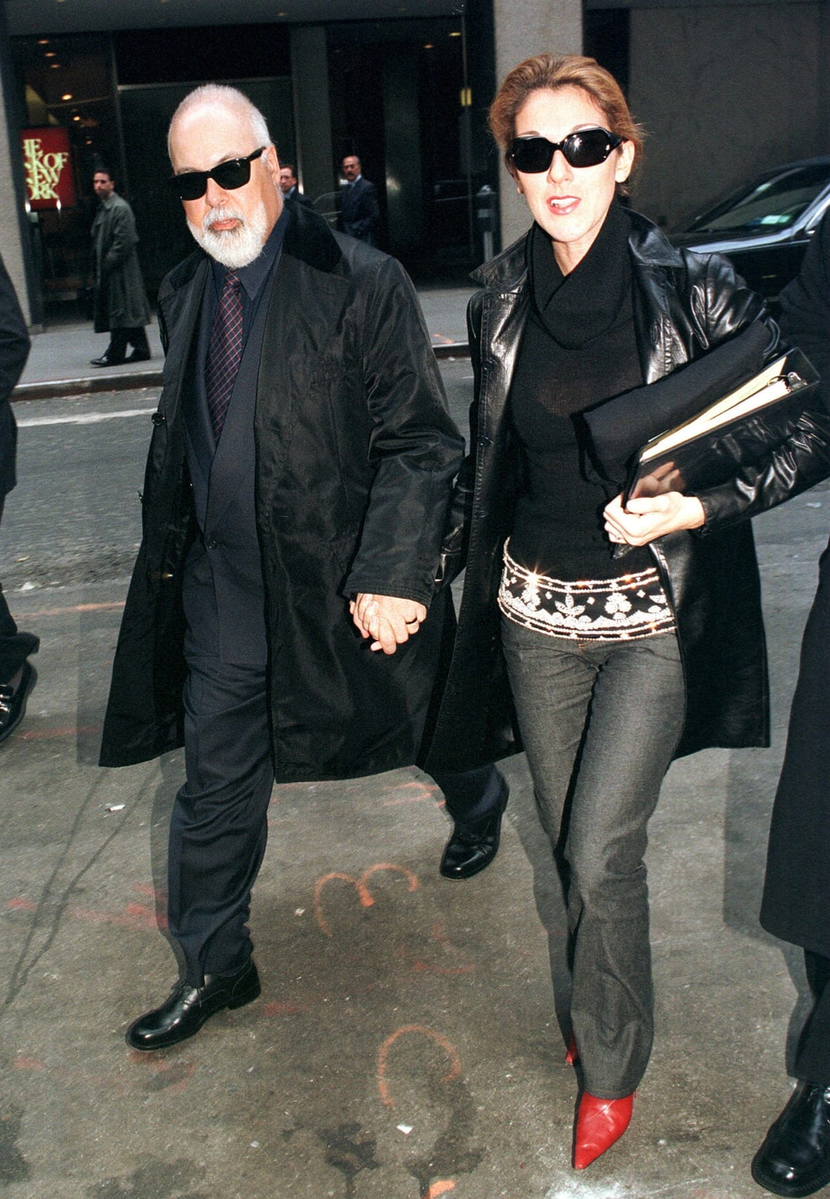 Canadian musical producer René Angélil was married to singer Céline Dion from December 17, 1994, until his death from throat cancer on January 14, 2016