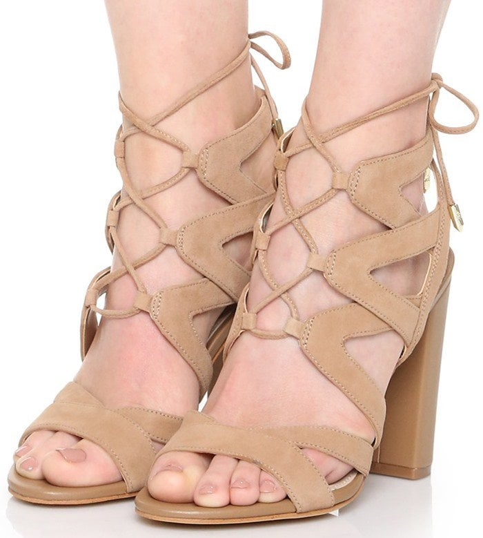 35a4a0488844 Achieve a Chic Look in Sam Edelman  Yardley  Lace Up Sandals