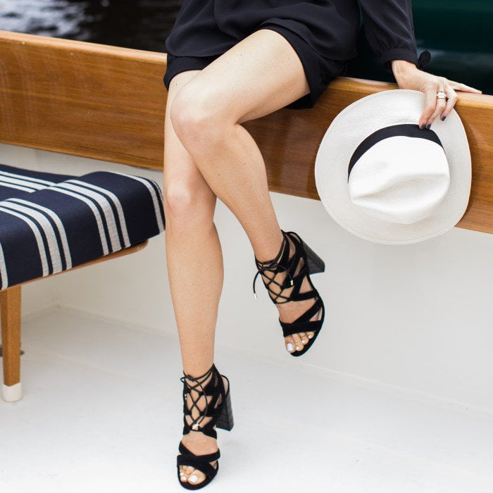 6fd6737235e7 Sam Edelman s California-Inspired  Yardley  Lace-Up Sandals
