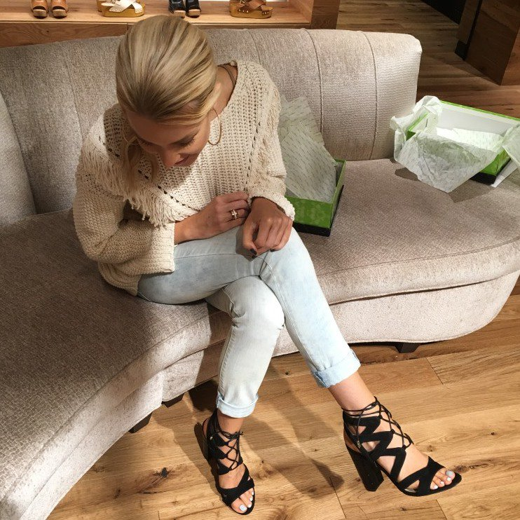 70f13ed70df Sam Edelman s California-Inspired  Yardley  Lace-Up Sandals