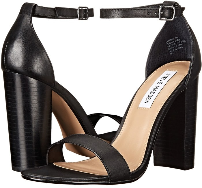 Steve Madden Carrson Black Leather