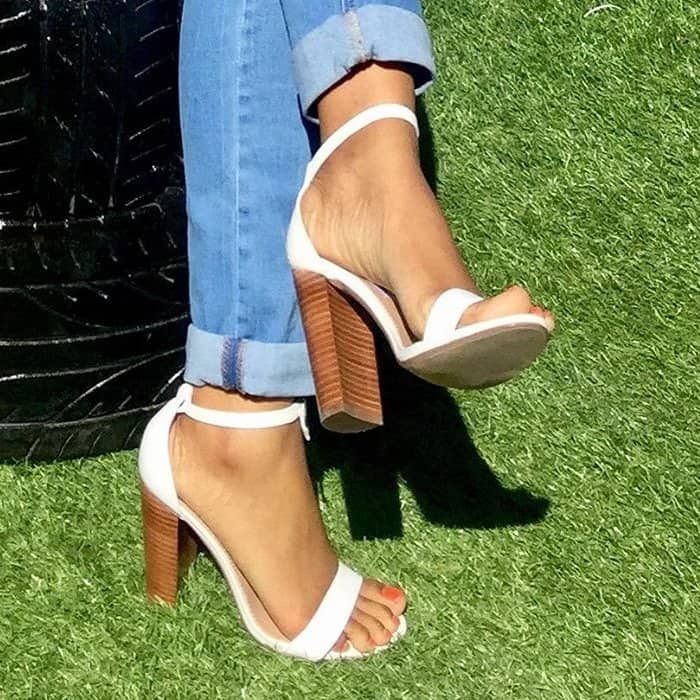 7177ecf8bac Carrson Block Heel Sandals by Steve Madden With Ankle Strap