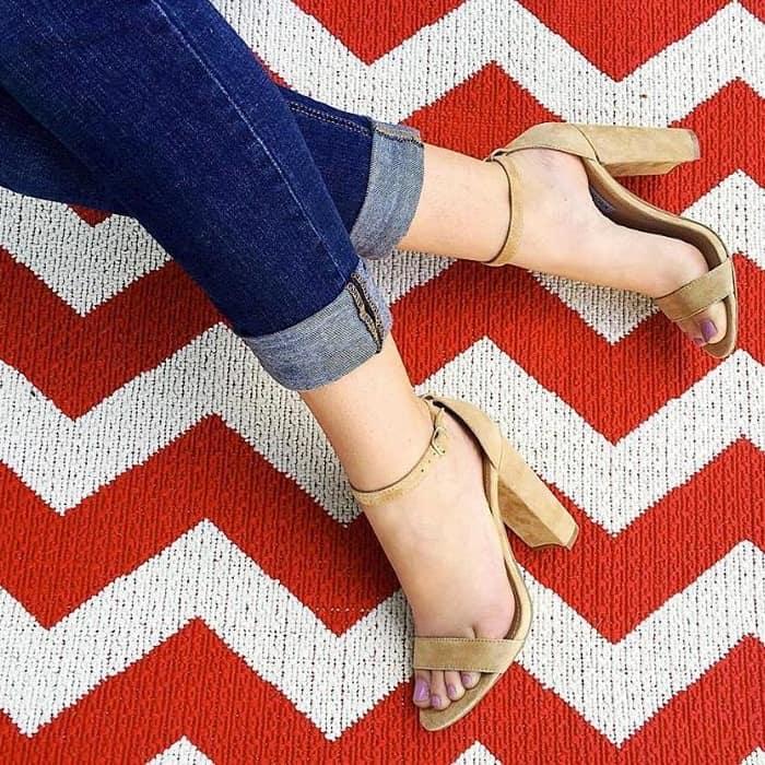 Steve Madden 'Carrson' Block Heeled Sandal