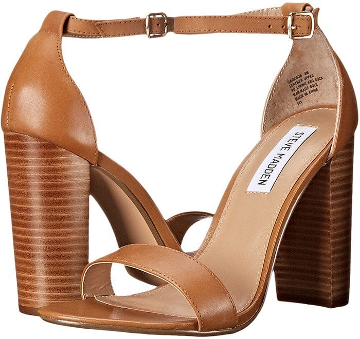 Steve Madden Carrson Tan Leather