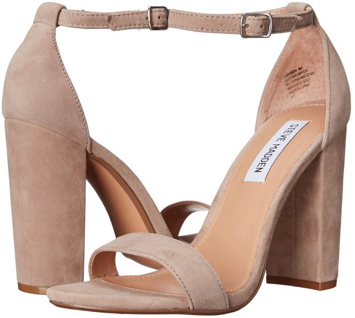 Steve Madden Carrson Taupe Suede