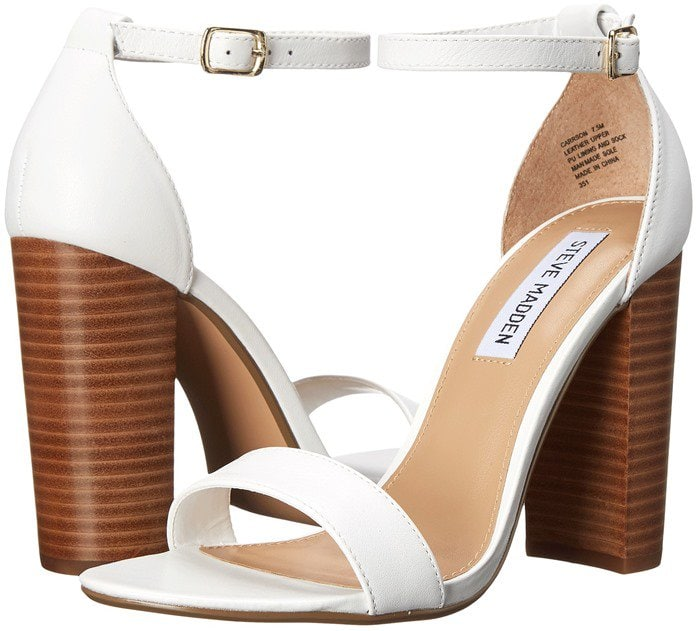 Steve Madden Carrson White Leather