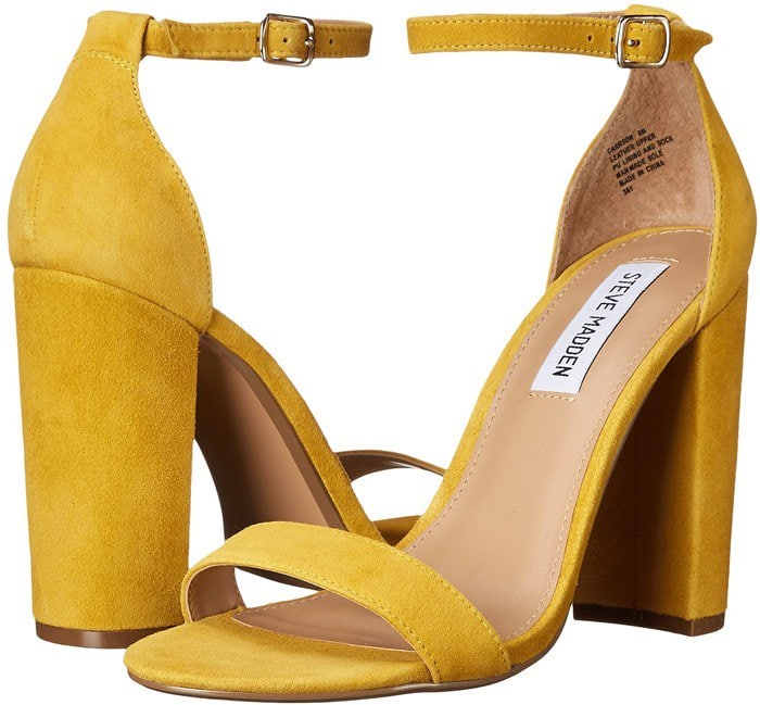 Steve Madden Carrson Yellow Suede