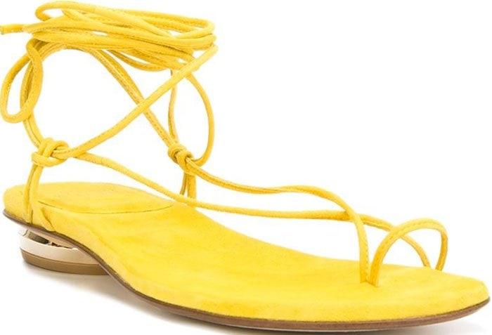 Stuart Weitzman Nieta Yellow 1