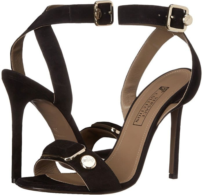 Versace Collection Strappy Open Toe 3
