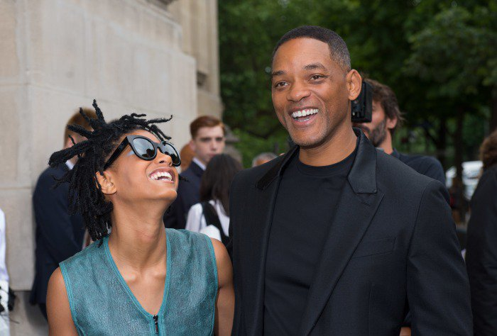 Will smith chanel couture show paris