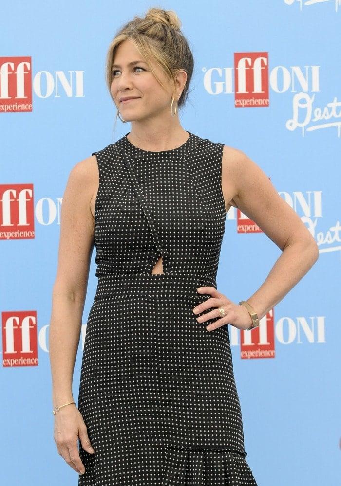 Jennifer Aniston Giffoni Film Festival 2016