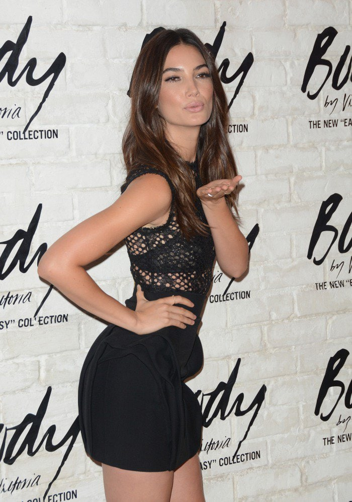 Lily Aldridge Victoria's Secret 'Easy' Collection Launch