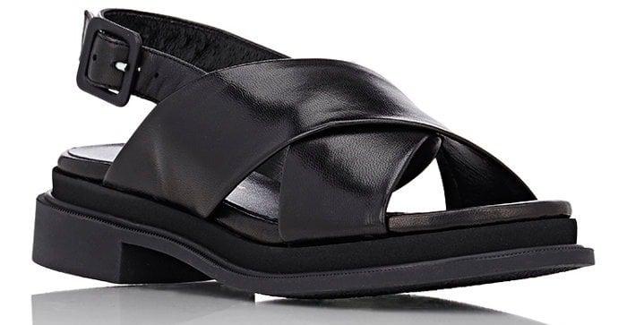 robert clergerie calientek sandal black