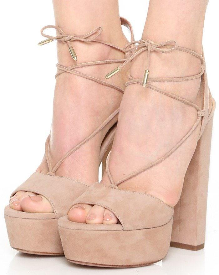 Aquazzura Austin Plateau Sandals