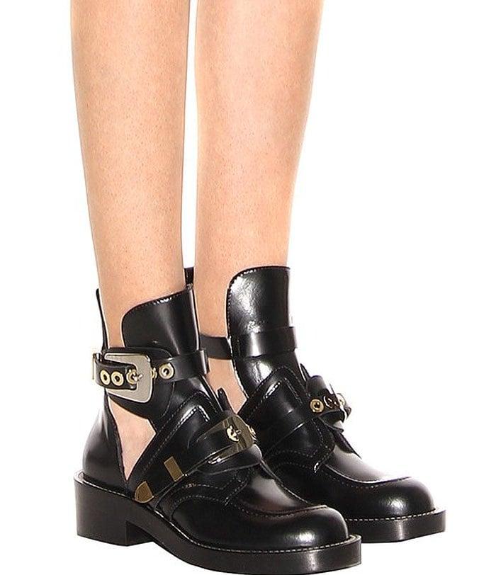 """Balenciaga """"Ceinture"""" Ankle Boots"""