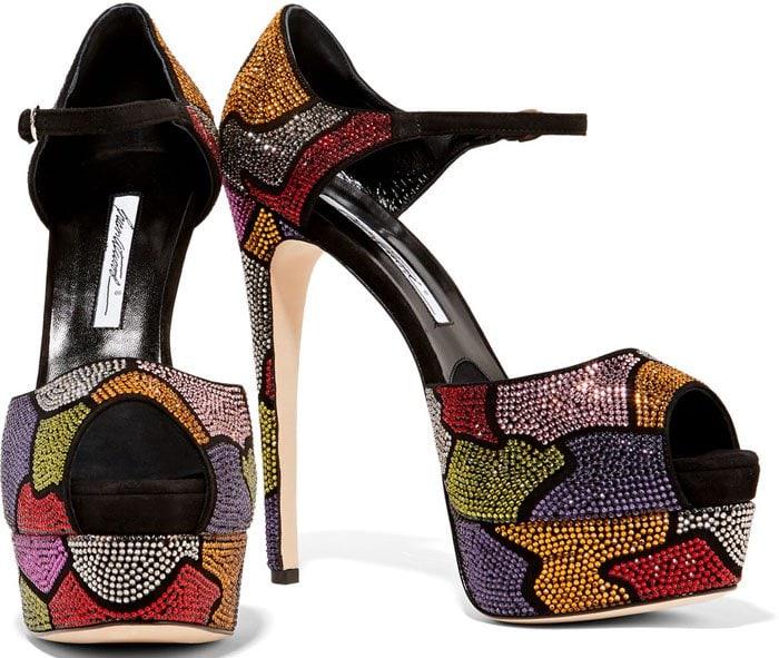 Brian Atwood Tribeca Platform Sandals
