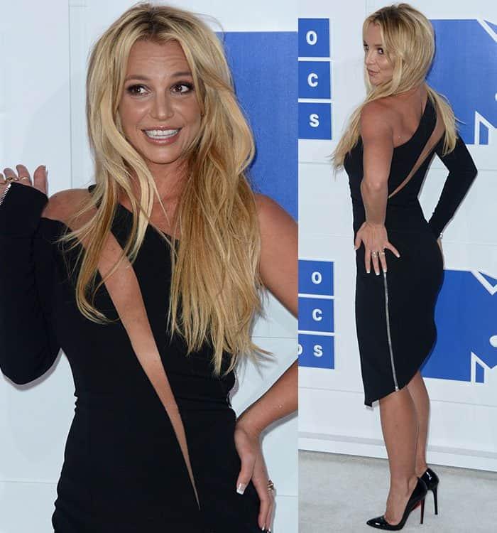 Britney Spears at the 2016 MTV Video Music Awards (VMAs)