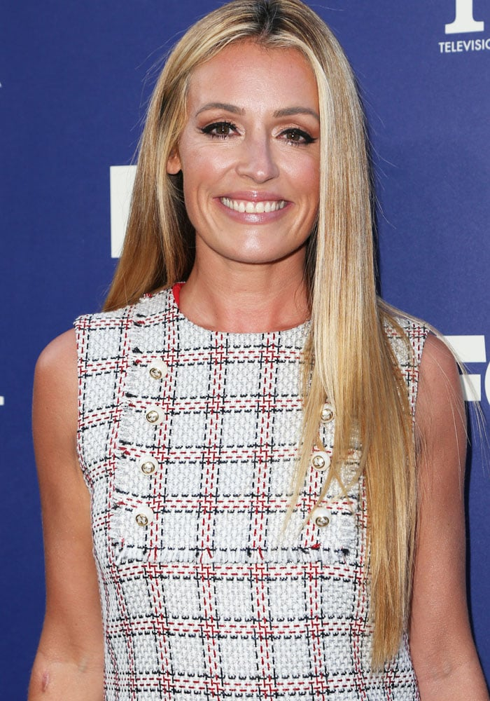 Cat Deeley Fox TCA Jimmy Choo 1