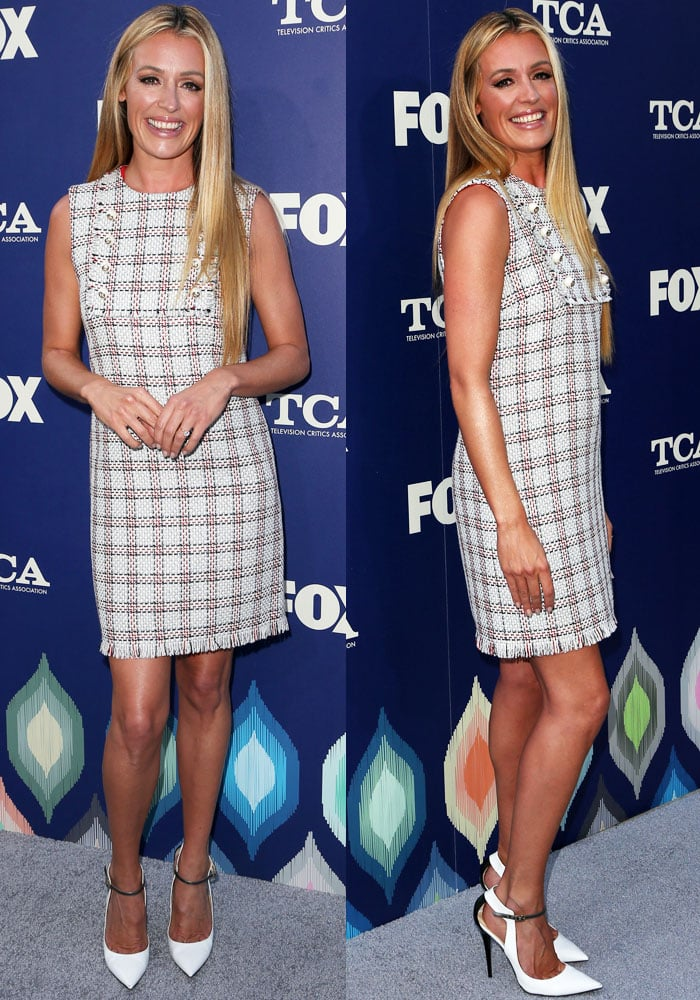 Cat Deeley Fox TCA Jimmy Choo 3