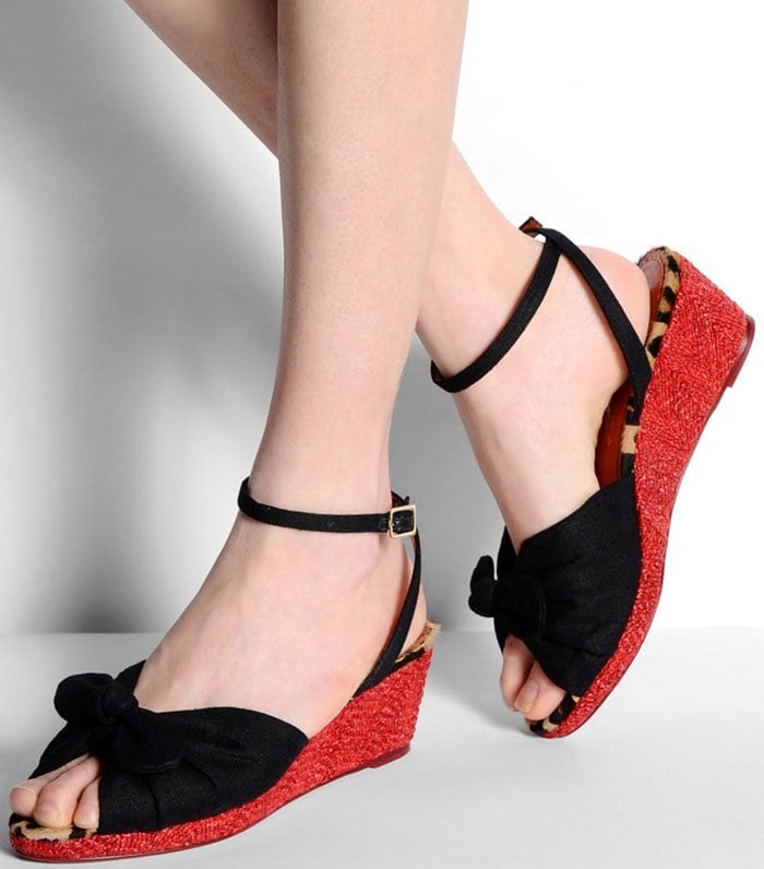 Charlotte Olympia Bow Wedge 2