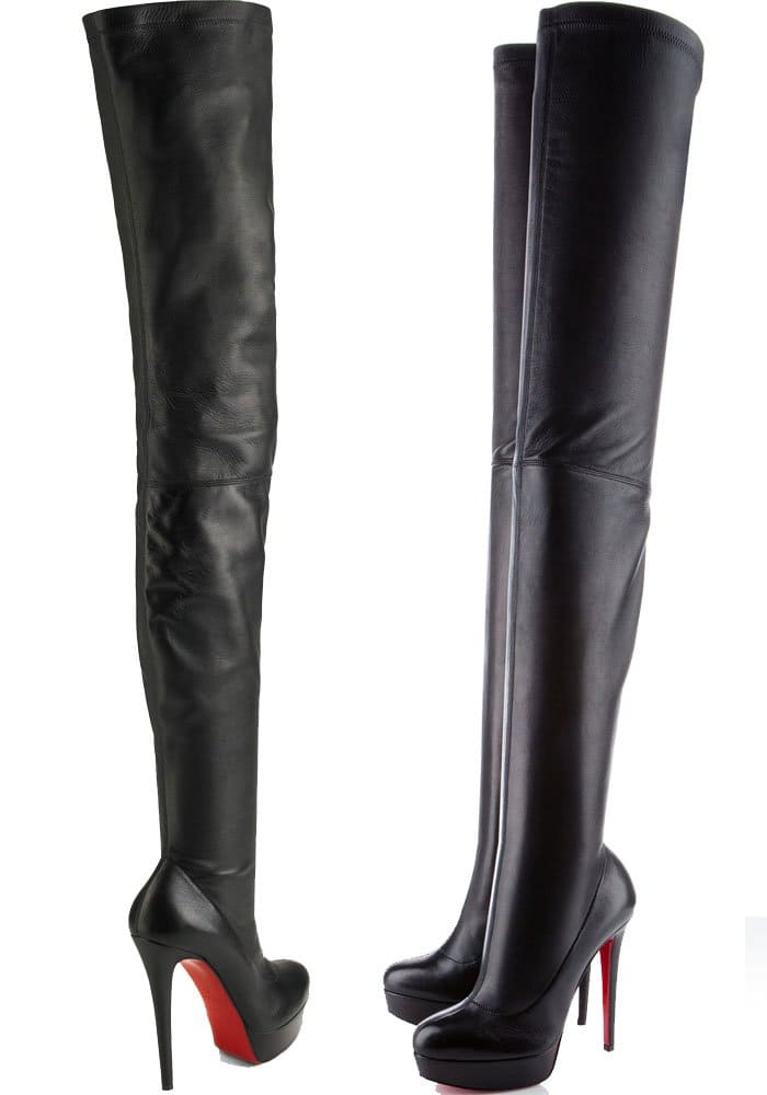 Christian Louboutin Gazolina Over-the-Knee Boots