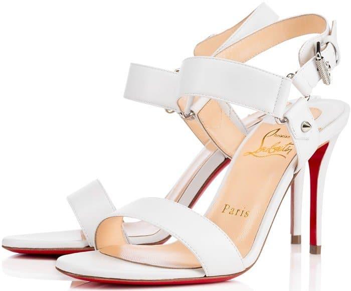 Christian Louboutin Sova Sandals White
