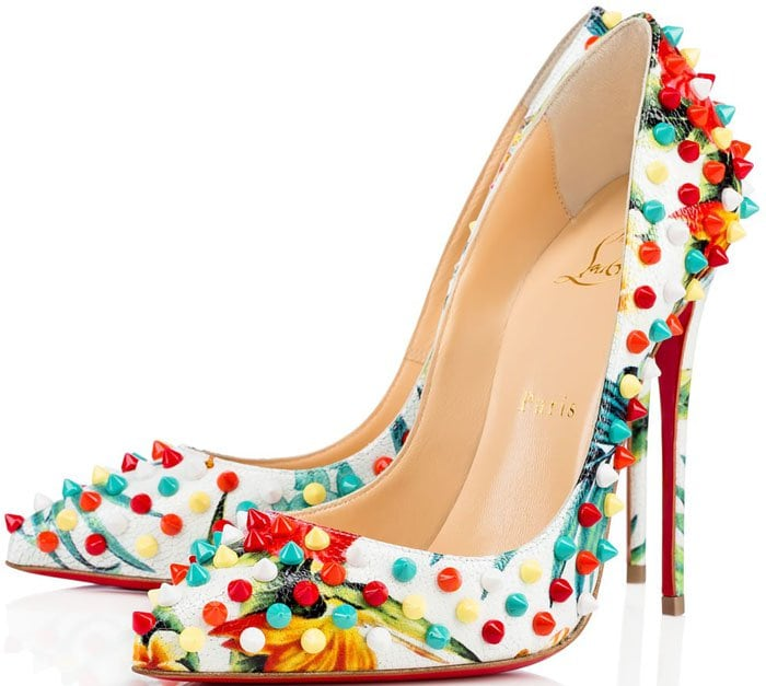 Christian Louboutin Spike Follies Printed 1