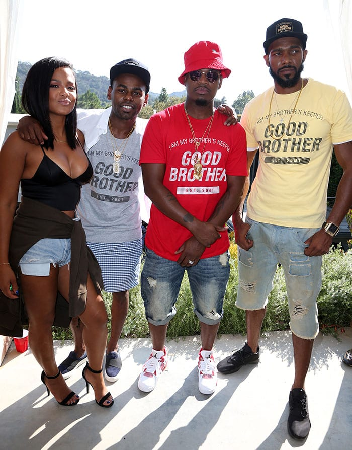 Christina-Milian-Ne-Yo-Good-Brother-founders