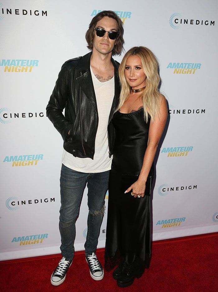 Christopher-French-Ashley-Tisdale-Amateur-Night-premiere