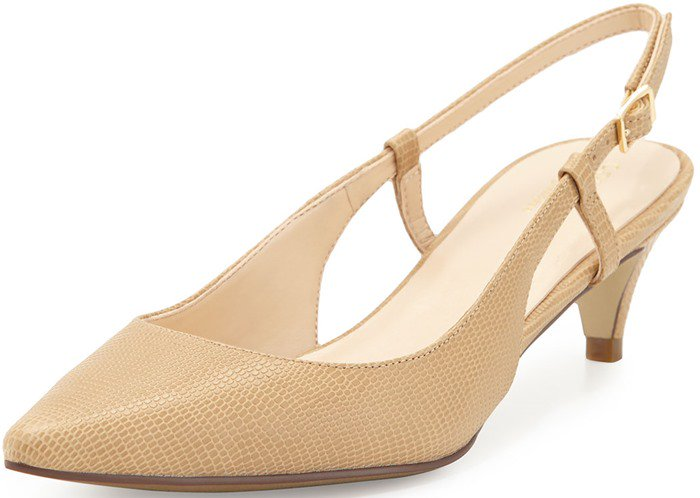 Cole Haan Juliana Kitten-Heel Slingback Pump