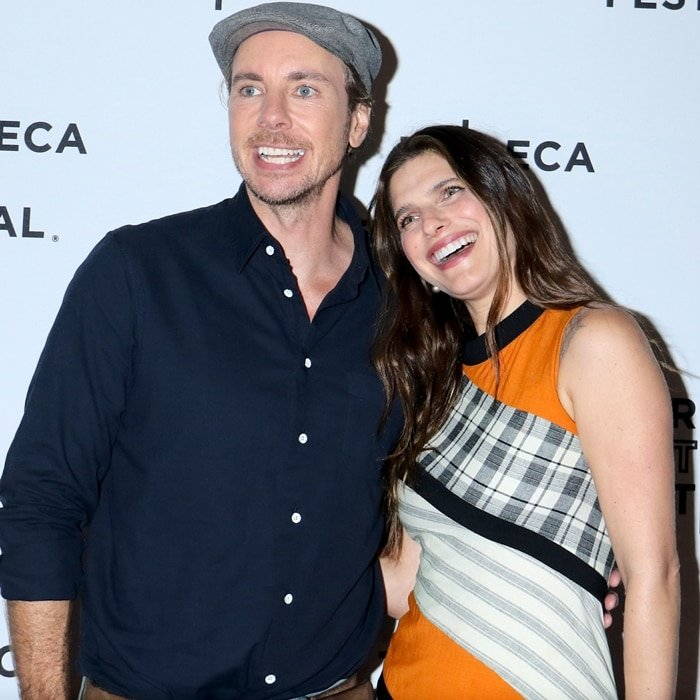 "Dax Shepard and Lake Bell star as Michael ""Mike"" Levine-Young and Rio Levine-Young in Bless This Mess"