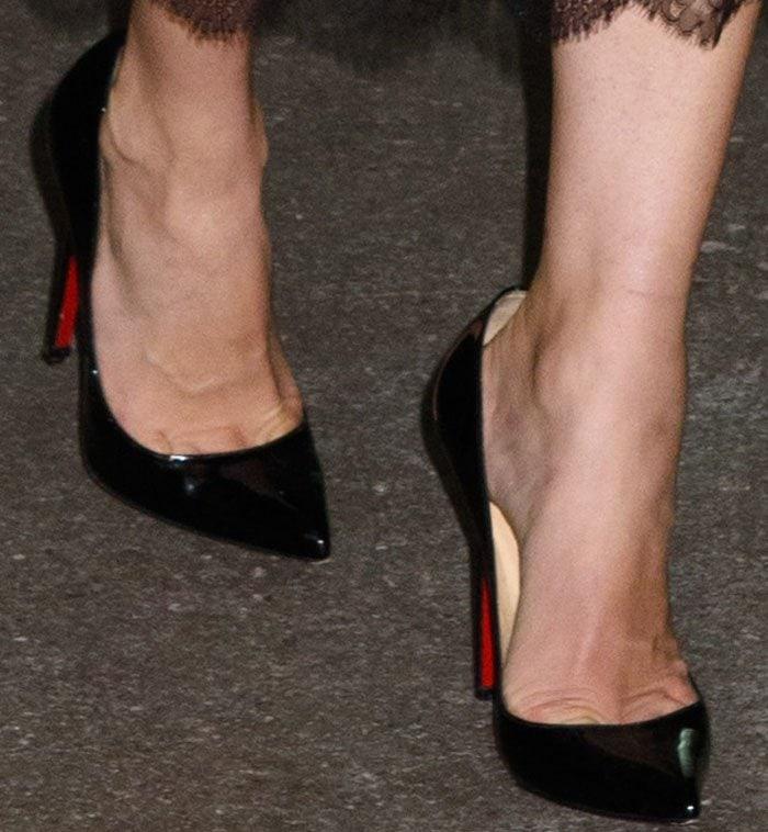 Diane Kruger AOL Build Christian Louboutin 2