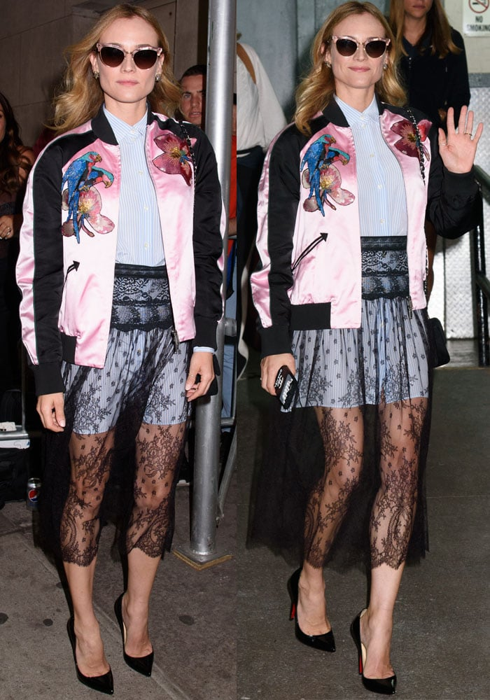 0fc60afdd4e Diane Kruger in Christian Louboutin 'Pigalle Follies' Pumps