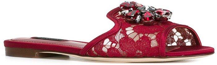 Dolce & Gabbana 'Bianca' sliders