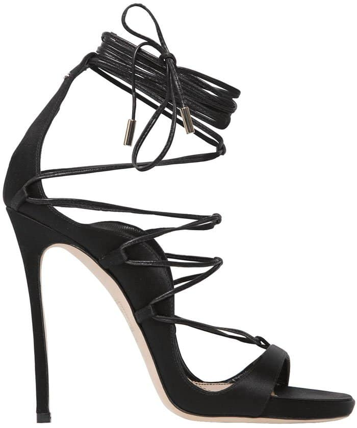Dsquared2 Riri lace-up satin sandals