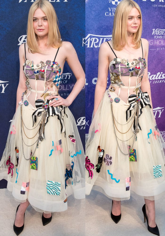Elle Fanning Variety PYH Marc Jacobs 2