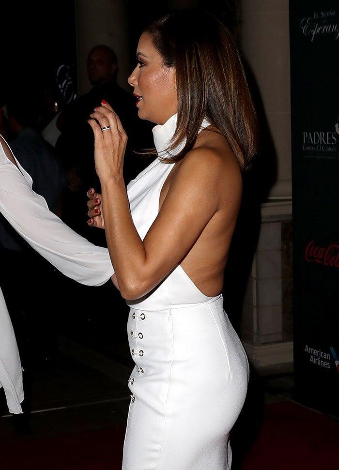 Eva-Longoria-white-outfit-open-back