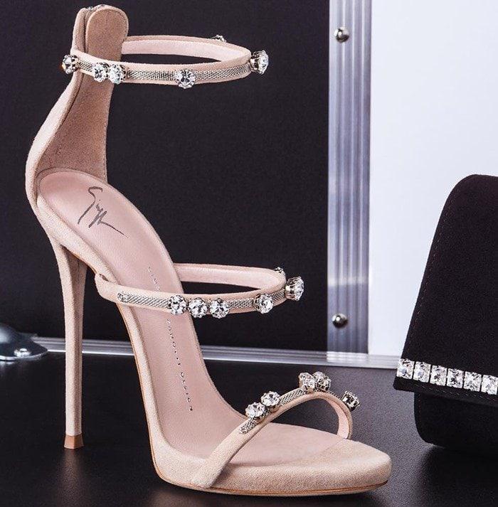 Giuseppe Zanotti Strappy Stiletto Heels