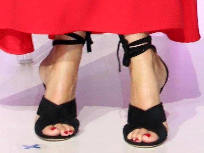 Gwyneth Paltrow Gianvito Rossi Crissy sandals