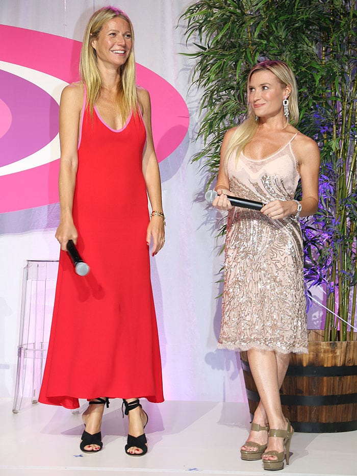Gwyneth Paltrow Tracy Anderson Hamptons Party 1