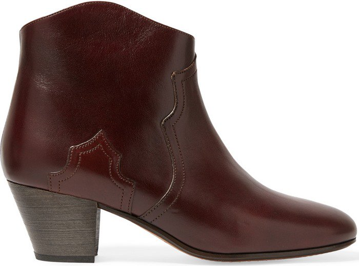 Isabel Marant Etoile Dicker leather ankle boots