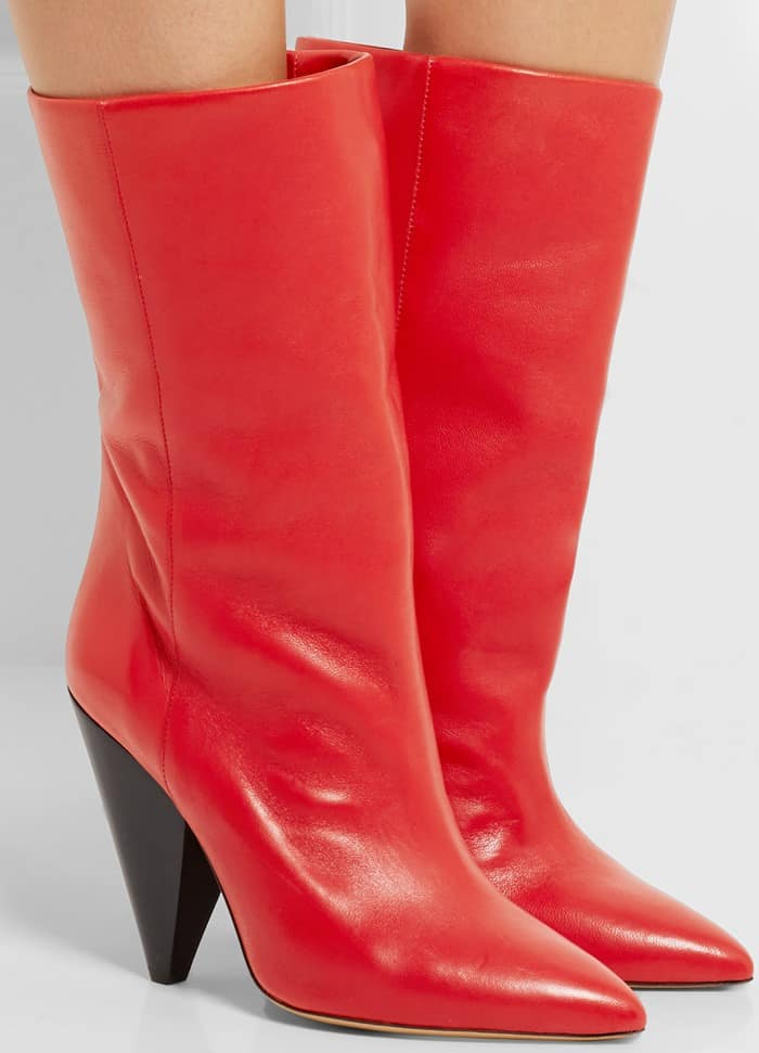 Isabel Marant Lexing leather knee boot