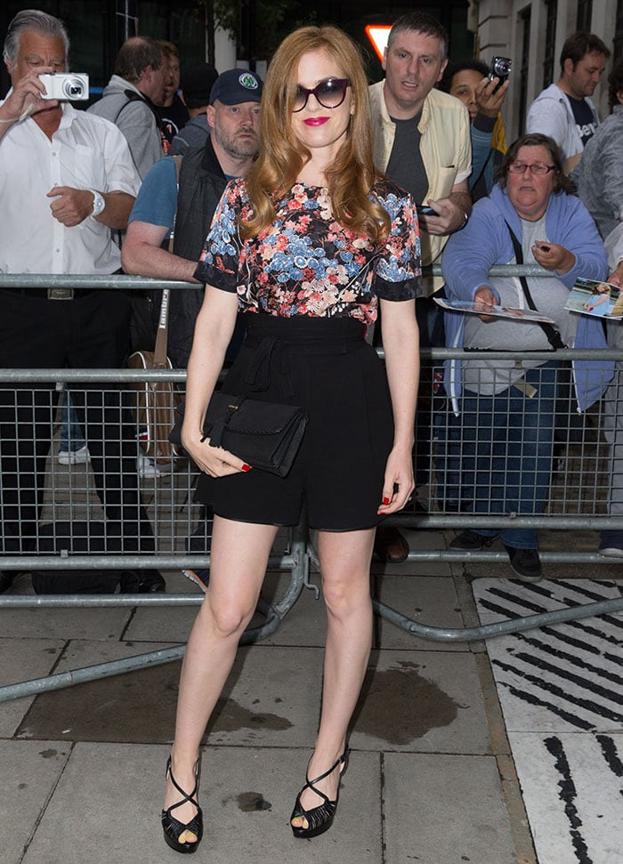 Isla-Fisher-promoting-Marge-In-Charge-BBC-Radio-2