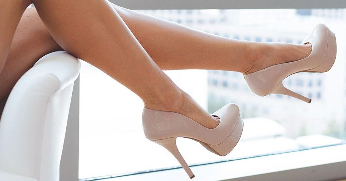 Nude Faux Suede Simple Strap Platform Heeled Sandals, Nude