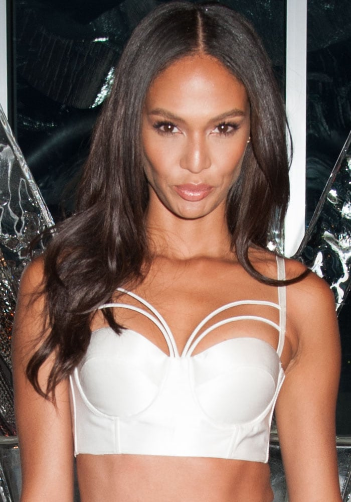 """Joan Smalls at """"W Hotels Turns Up the Heat""""party in New York on August 17, 2016"""
