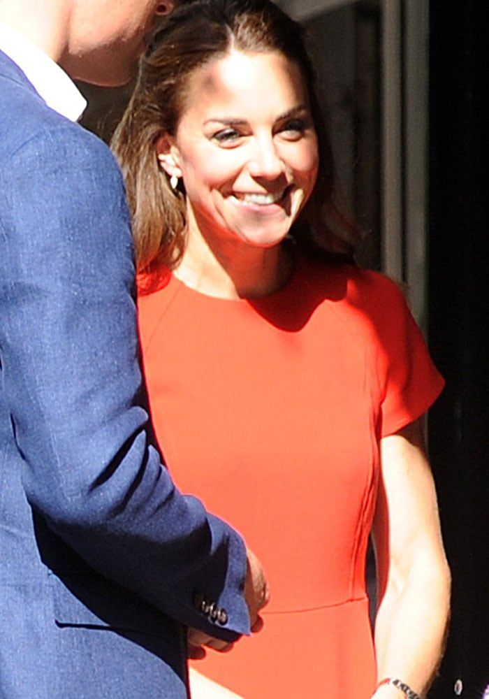 Kate Middleton, Duchess of Cambridge, attends a charity event in South London on August 25, 2016