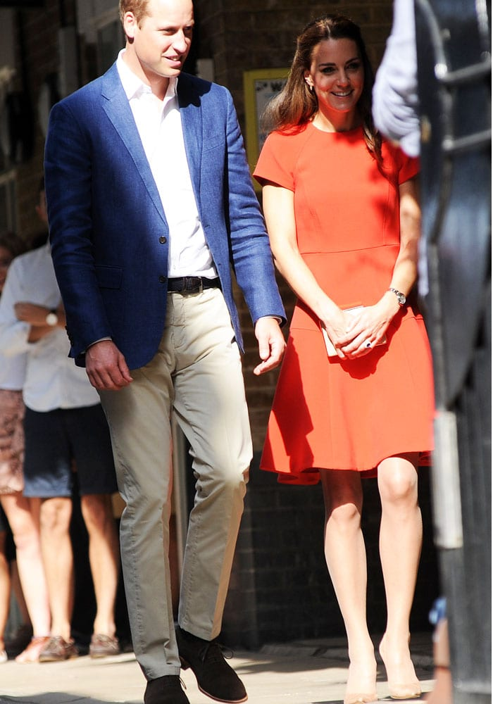 Kate Middleton South London Charity Gianvito Rossi 3