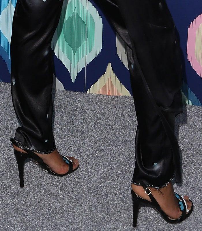 Keke-Palmer-Chiara-Ferragni-sandals