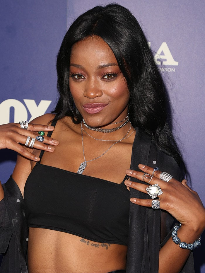 Keke-Palmer-hair-makeup-rings