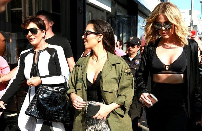 Kim Kardashian, Khloe Kardashian and Kris Jenner